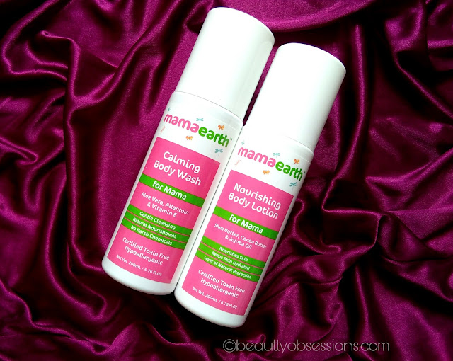 Mamaearth Calming Body wash And Nourishing Body Lotion for MAMA - Review