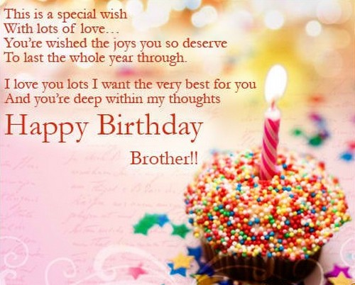 Download HD 45 Happy Birthday Images Pictures Photos for Brother