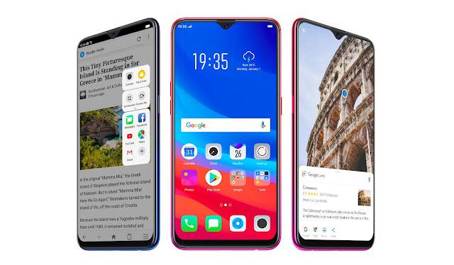 Kelebihan dari Smartphone OPPO F9