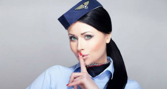تعرفوا على خفايا عمل مضيفات الطيران المفروض أنهن مضيفات فقط ولكن..!! ستصدمون بما ستقرأونه