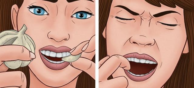 Diş Ağrısını Geçici Olarak Anında Geçirme Yolu