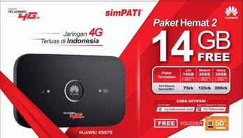 modem 4G Huawei E5573