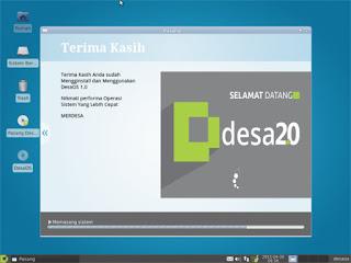 DesaOs - Distro Linux Buatan Indonesia