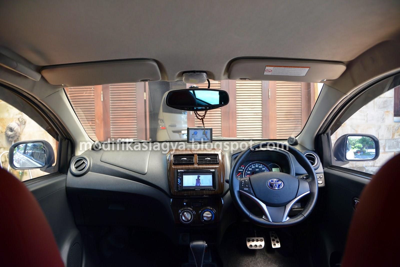 All New Agya Trd 2017 Cover Mobil Grand Avanza Modifikasi Toyota Ganti Setir Yaris Dengan