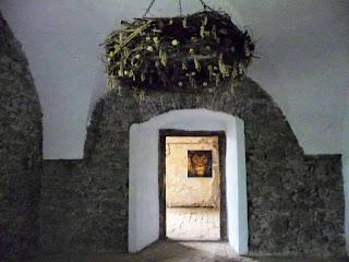 Замок Сент-Миклош. Залы и переходы замка