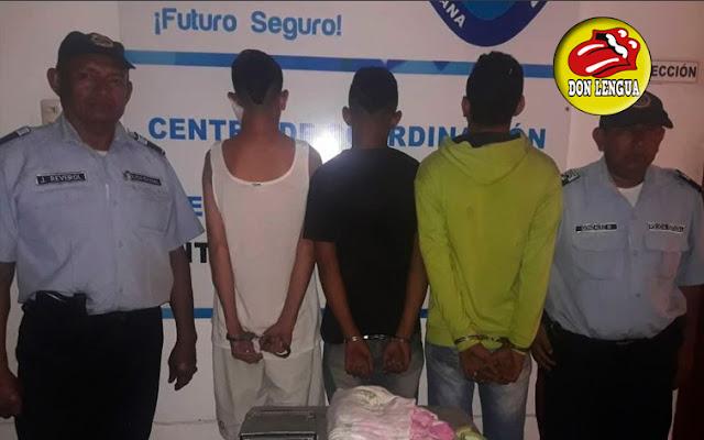 Detenidos tres menores que robaban casas en Maracaibo