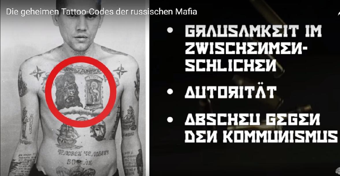 Was Bedeuten Die Tatoos In Der Russischen Mafia Info Welteu