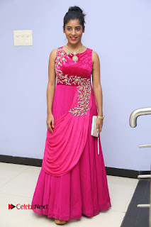 Actress athri Pictures in Pink Dress at Kobbari Matta Teaser Launch  0055.JPG