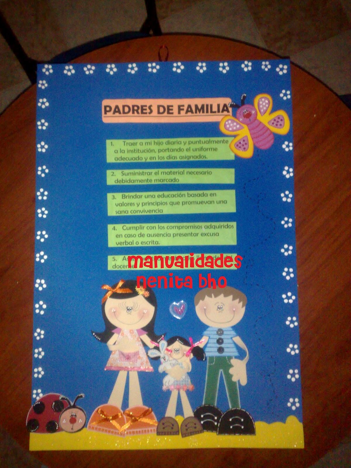 Manualidades Nenita Bho Carteles Escolares