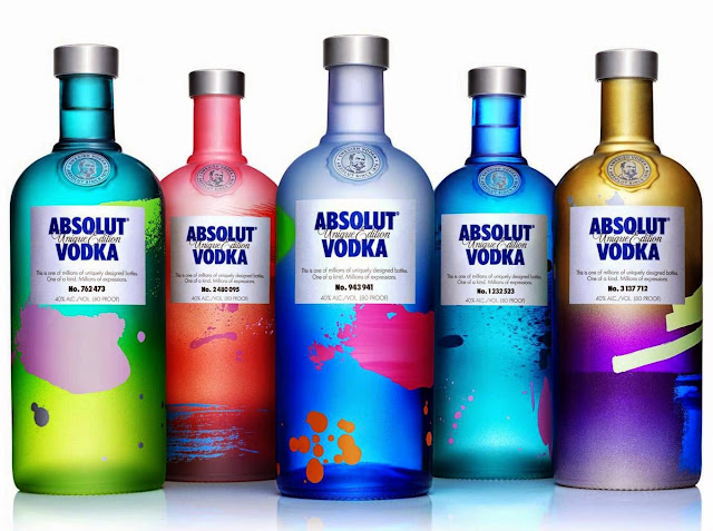 absolut unique, uniquely designed & individually numbered, absolut vodka, drinks, vodka, party, One of a Kind, Millions of Expressions