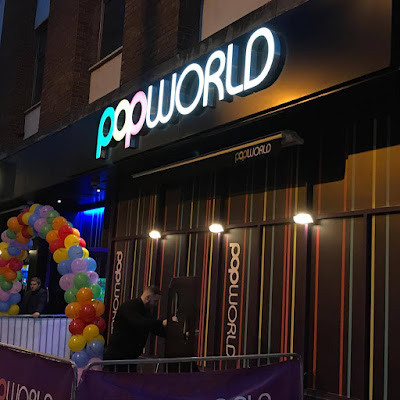 Popworld Reading exterior