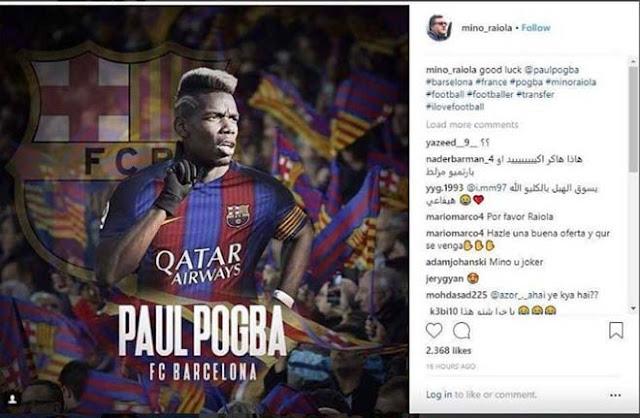 """""""Bom tấn"""" Pogba - Barca: Mourinho thêm dầu vào lửa, siêu cò chốt xong? 2"""