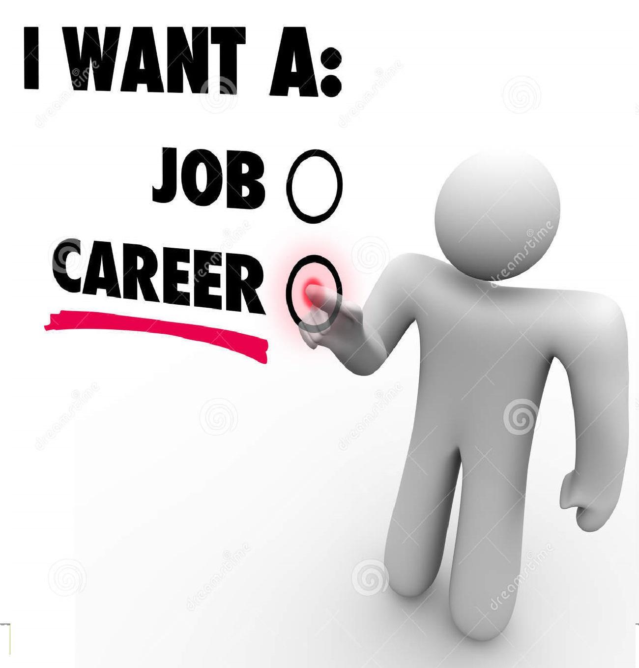 career vs job doc tk career vs job