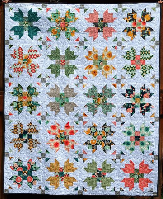 Florabelle Bloom Quilt Free Tutorial