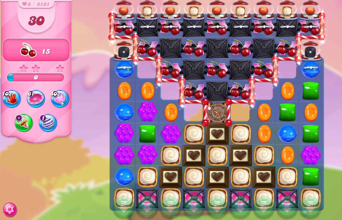Candy Crush Saga level 5131