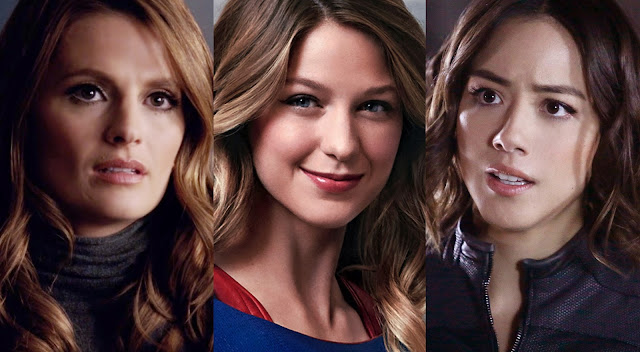 castle, supergirl, agents of shield