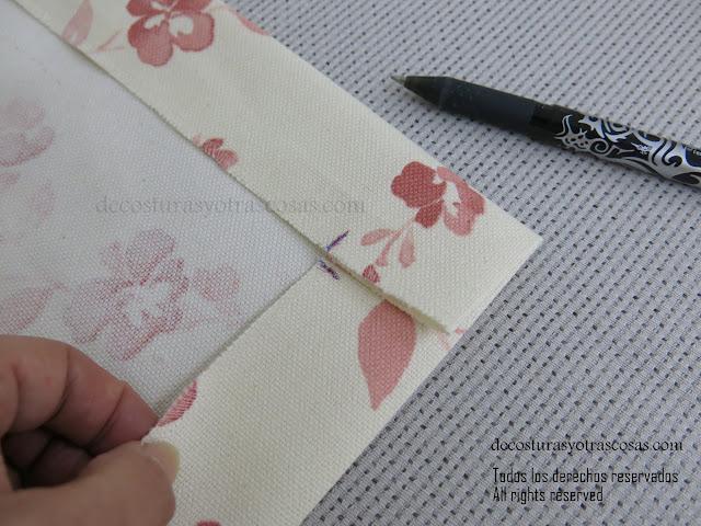 tip de costura para coser esquinas