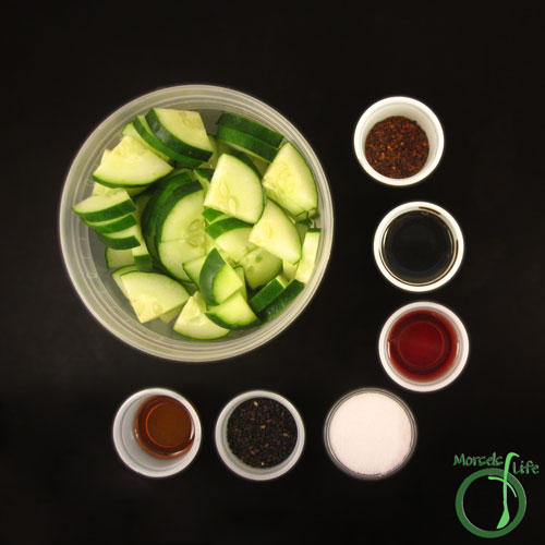 Morsels of Life - Chinese Cucumber Salad Step 1 - Gather all materials.