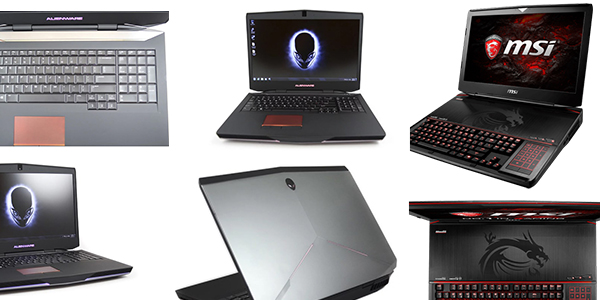 dell, msi, alienware, lenovo