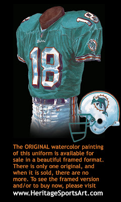 Miami Dolphins 2000 uniform