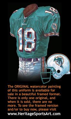 Miami Dolphins 2000 uniform