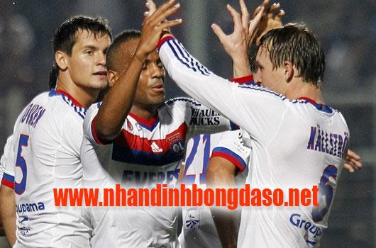 Lyon vs Toulouse www.nhandinhbongdaso.net