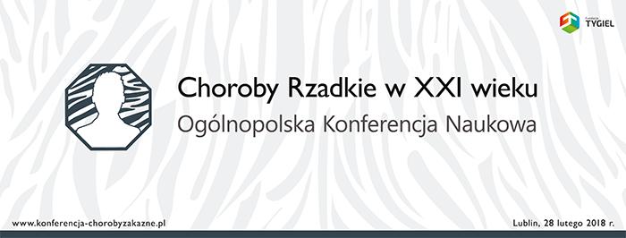 Zaproszenie na Ogólnopolską Konferencję Naukową Choroby rzadkie w XXI wieku