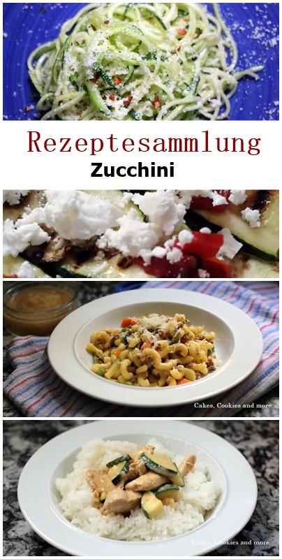 Rezeptesammlung für Zucchini