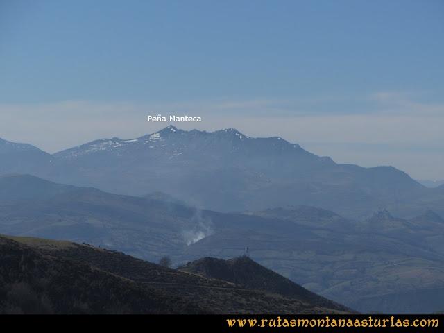 Ruta Linares, La Loral, Buey Muerto, Cuevallagar: Desde el Buey Muerto, Peña Manteca.
