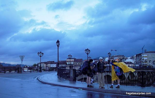 Caminho de Santiago, Pontevedra, Ponte O Burgo