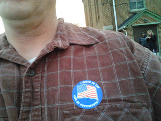 I voted in the City of Portsmouth, Virginia
