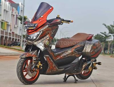 modifikasi motor yamaha nmax foto gambar24  terbaru
