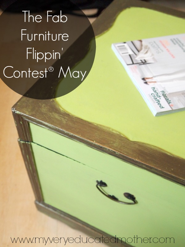A Fun Furniture Flipping project featuring Country Chic Paints.