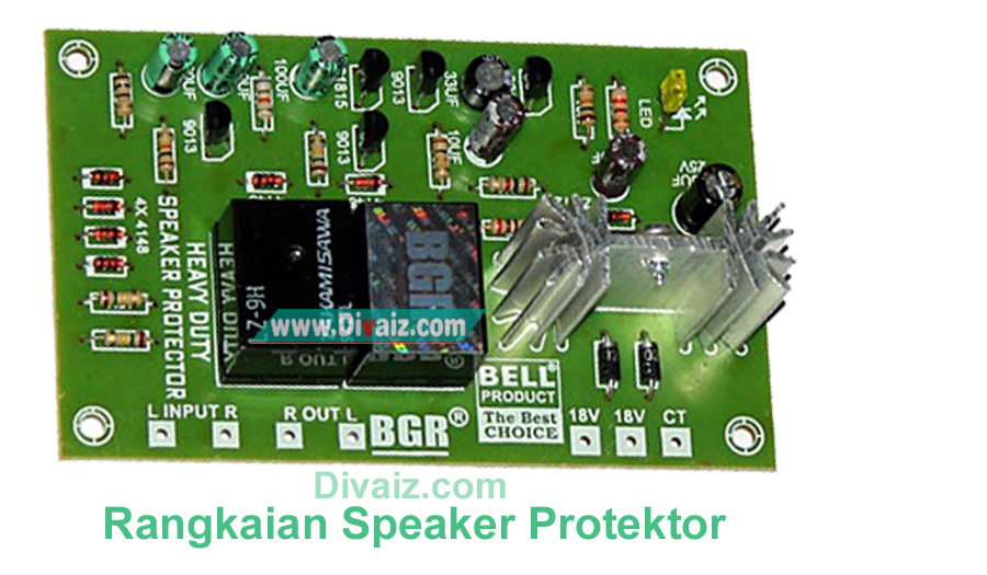 Fungsi dan Cara Memasang Speaker Protektor Pada Power Amplifier