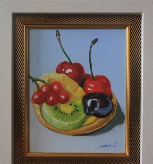 Mini Still Life 20x30cm by Gatot Wijoyo