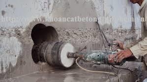 Khoan cắt bê tông tại huyện Tân Phú