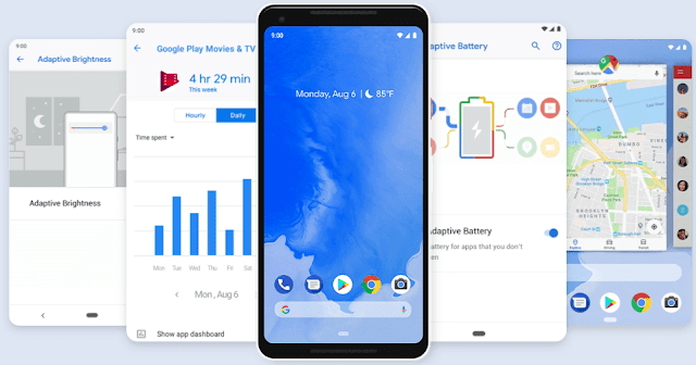 Google Officially Unveiled Android 9 PIE