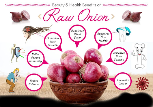 10 Beauty And Health Benefits Of Raw Onion