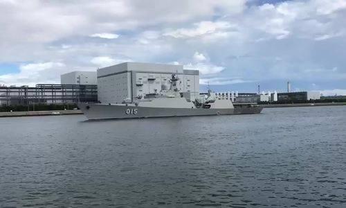 Chiến hạm Việt Nam tới Hàn Quốc duyệt đội hình trên biển