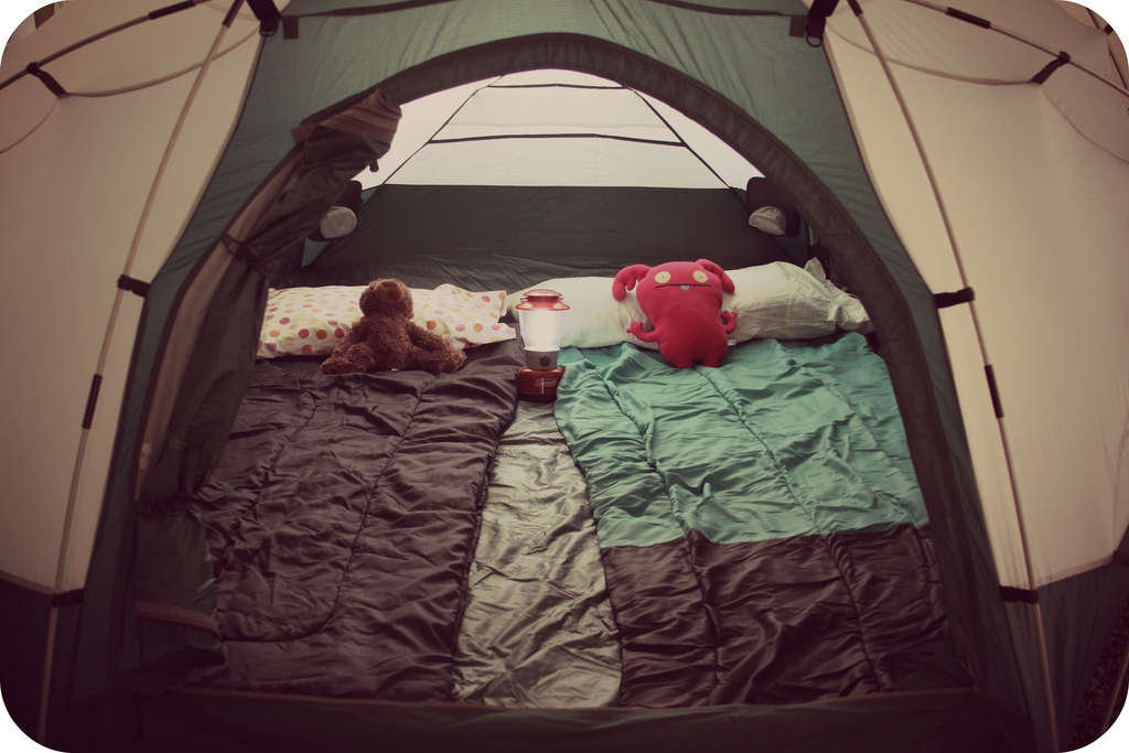 Summer Diary Day 36 Indoor Camping