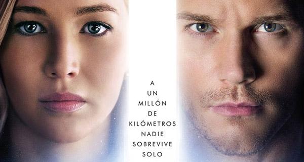 "Crítica de ""Passengers: el romance cifi de Chris Pratt y Jennifer Lawrence"