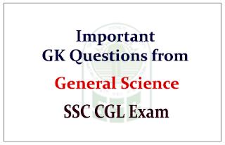 List of Important GK Questions from General Science