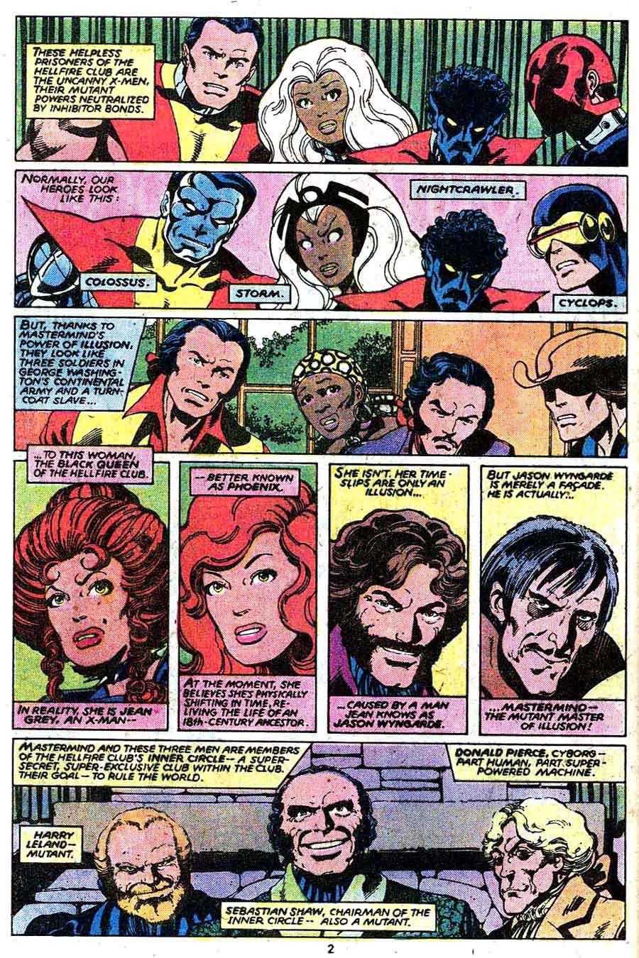 X-men v1 #134 marvel comic book page art by John Byrne