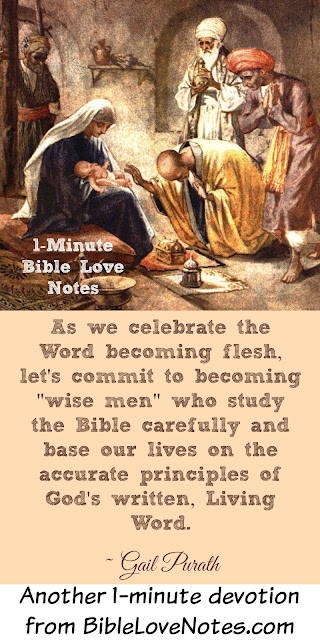 Are You Among the Wise Men Who Study God's Word