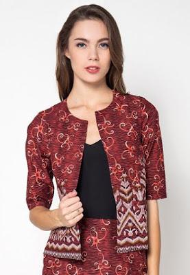 Model Blazer Batik Solo
