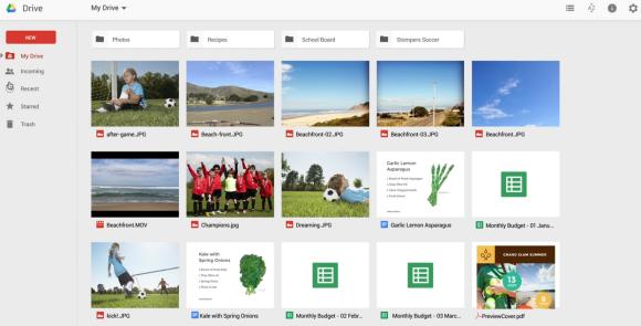 New Google Drive Interface