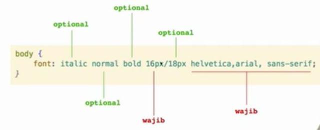 Belajar CSS Dasar Bagian 4 – Font Styling 11