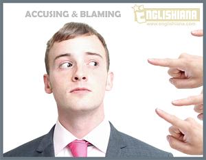 Kumpulan Contoh Dialog / Percakapan 2 Orang, 3 Orang, dan 4 Orang Expression of Blaming and Accusing beserta Artinya
