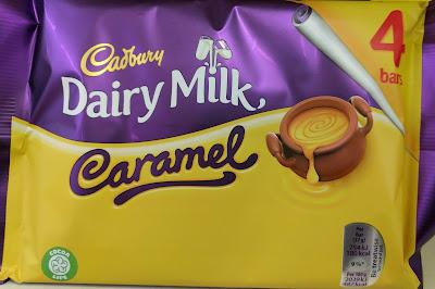 Cadbury caramel 4 pack