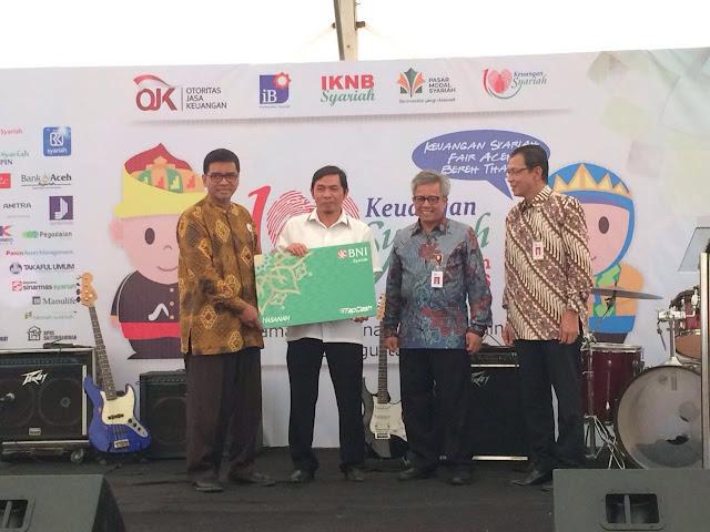 Ada TapCash Edisi Khusus di Keuangan Syariah Fair Aceh